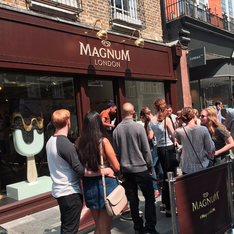 Wave the Line for our Magnum Pleasure Store